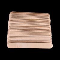100 pz 6 pollici legno lingua abbassalingua grande inceratura ceretta spatolaYBH