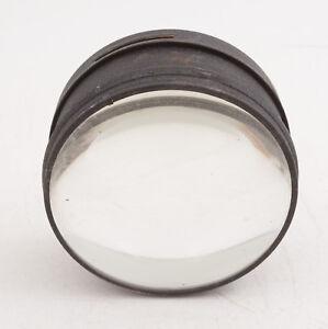 "4.5"" Round Dual Glass Projector Lens (D2L) Steampunk Quality Vintage Item"
