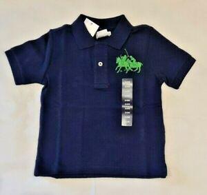 Ralph Lauren Baby Boys' Cotton Mesh Polo Shirt Top size 24 months