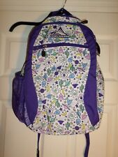 "High Sierra Backpack Approx. 17""H x 12""W x 6""D Multi Color-Embroidered"