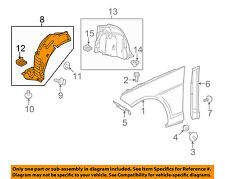 Mercedes MERCEDES-BENZ OEM E350-Front Fender Liner Splash Shield Left 2126905430