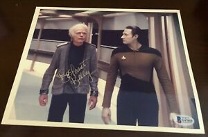 Rare AUTHENTIC DeForest Kelley Signed Autographed Seldom Seen Photo Beckett BAS
