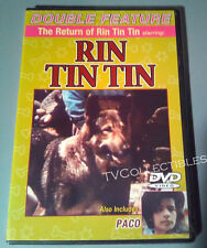 DVD~ THE RETURN OF RIN TIN TIN ~Robert Bobby Blake ~PACO ~Jose Ferrer