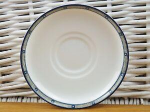 Wedgwood Samurai  Hotelware Restaurant Narrow Border Saucers New UNUSED