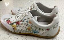 Panama Jack Trainers Shoes Floral Leather Size Uk 5 EUR 38 Comfortable Spain