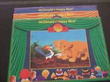 """3 McDonald's """"Happy Meal"""" Lion King Puzzles from 1994"""