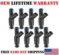 19Lb 4 HOLE OEM Bosch 8Pieces Fuel Injectors Y 2003-2005 Lincoln Aviator 4.6L V8