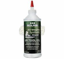 Rolair Pneumatic Air Tool Oil Lube Lubricant 16 oz Ounces Oiltool16