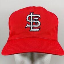 Vintage 90's St. Louis Cardinals Red Mesh Trucker Hat Snapback Cap MLB Baseball