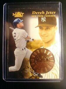 1997 Pinnacle MINT Bronze minted card #16 DEREK JETER Yankees