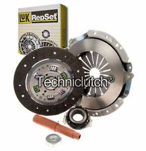 LUK 3 PART CLUTCH KIT FOR RENAULT FUEGO COUPE 1.6 TURBO