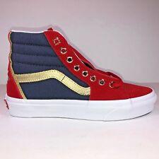 Vans Marvel Mens Size 5 SK8 Hi Captain Marvel True White Shoe New VN0A38GEUBI