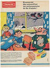 PUBLICITE ADVERTSING BANDE DESSINEE BISCUIT SALE TUC  DE PAREIN