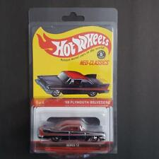 '58 Plymouth Belevedere Hot Wheels Neo-Classics Red Line Limited of 3000