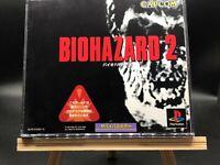 Resident Evil 2 w/spine (bio hazard 2)(PlayStation 1, 1998) from japan