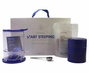 Teavana Start Steeping Starter Brewing Kit with Blue Teamaker