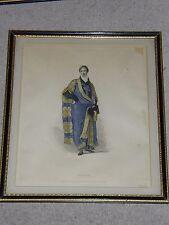 """R ACKERMANN'S """"Histoire de Cambridge"""" encadrée Imprimer - """"Noble"""" - 1815"""