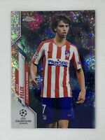 2019-20 Topps Chrome UEFA Champions Joao Felix #25 Speckle Refractor 1:9 SP