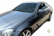 MERCEDES C CLASS COUPE  W204 2006-2012 SET OF FRONT WIND DEFLECTORS 2pc HEKO