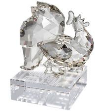 NIB $325 Swarovski Crystal Chinese Zodiac Rooster Silver Shade #1112352