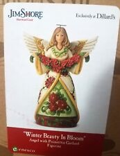 Jim Shore Heartwood Creek Winter Beauty In Bloom Angel Dillards Exc New