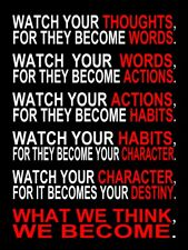 """Canvas Print Wall Art Painting Poster Picture Quote Words Home Decor 12x16"""" Gift"""
