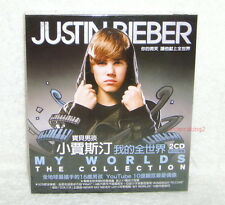 Justin Bieber My Worlds The Collection Taiwan 2CD w/BOX