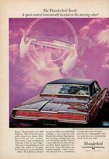 1966 Thunderbird 2-Door Town Landau Hardtop Touch Speed Control PRINT AD