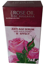 Anti Age Serum With Argilerine B-Effect-Paraben Free 40 mL With Natural Rose Oil