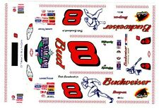 #8 Dale Earnhardt jr All Star 2001 1/24th - 1/25th Scale Waterslide Decals