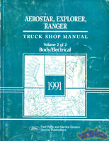 1991 FORD EXPLORER RANGER AEROSTAR SHOP MANUAL SERVICE REPAIR BOOK HAYNES