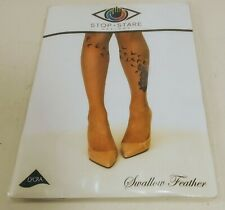 Tattoo,Rinestones Leggings M//Medium I55 BLUE,Cotton Long