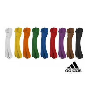 adidas Martial Arts, Judo, Karate, TKD, BJJ Belt - 9 Colors!