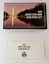 2020 *SILVER* Proof Set Box and Lenses ONLY