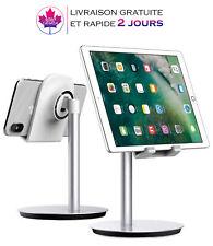 Support réglable pour Smartphone et Tablette (jusqu'à 10 pouces) en aluminium