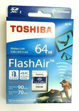 Toshiba Flashair W-04 64GB SDXC UHS-I Class 3 memory card THN-NW04W0640E6 x1 QTY