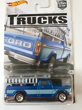 HOT WHEELS TRUCKS FORD F-250 BLUE - REAL RIDERS- CARD-1/5