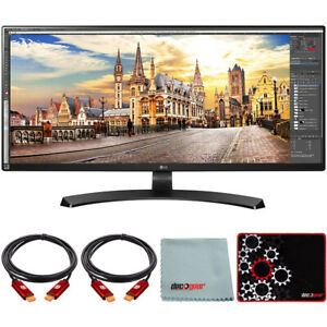 "LG 34"" 21:9 UltraWide FreeSync 2560 x1080 IPS Monitor with Mouse Pad Bundle"