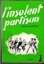 Signe de piste Hippocampe Insolent Partisan Histoire P. Joubert non Scout WW2