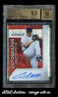 2015 Panini Prizms Red Power Autographs #26 - Andy Pettitte #d 47/49 - BGS 9.5