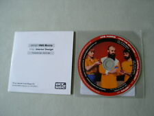 HMS MORRIS job lot of 2 promo CDs Interior Design From The Neck Down