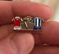 Manchester United v Wigan Athletic Badge 2010/11 Premier Badge Man Utd