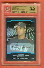 WILLY TAVARES 2004 Bowman Chrome BGS 9.5 REFRACTOR RC Rookie #BDP153 - GEM MINT