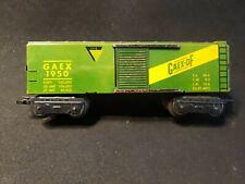 Postwar MARX O Scale GAEX-PF GAEX 1950 BOX CAR EXCELLENT