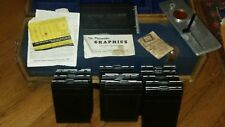 Vintage Graflex Camera Professional Carrying Case  ACCESSORIES FILM PACK ADAPTER