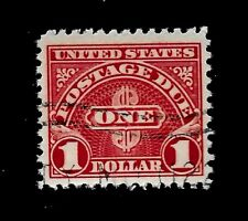 US Stamps 1930 Sc# J 77  ~ $1.00 Postage Due Issue  USED Light Cancel