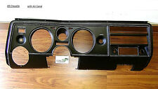 Chevelle 69 Dash Instrument Carrier Panel 1969 with AC bezel housing El Camino