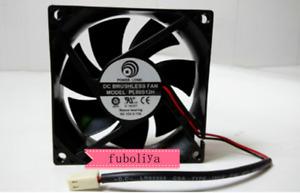 80*80*25MM PL80S12H DC12V 0.17A 8CM cooling fan F8