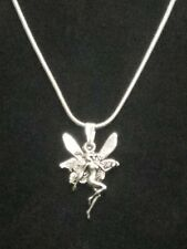 Fairy Necklace Pendant on Sterling Silver Chain