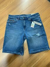 NWT Calvin Klein Jeans Shorts 42H3306 Isolation Blue 405 W30 Summer Causal Wear